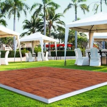 12x12 Wood Dance Floor Rental Chicago