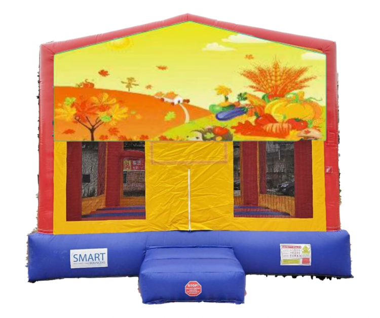 15x15 Fall Themed Bounce House
