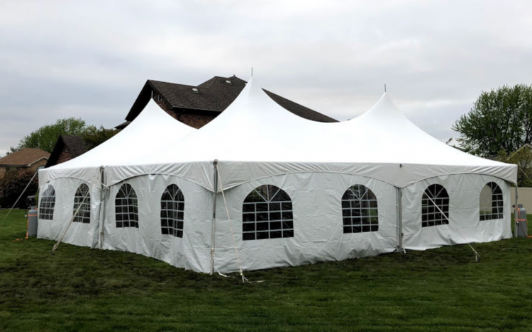 40x40 High Peak Frame Tent
