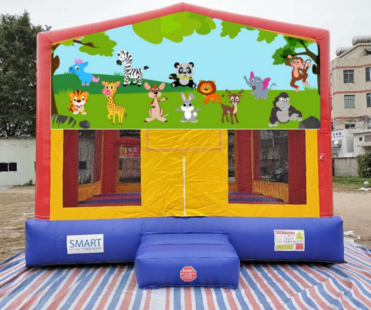 15x15 Baby Animal Bounce House
