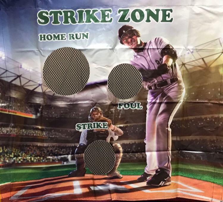 Baseball Strike Zone Frame Game