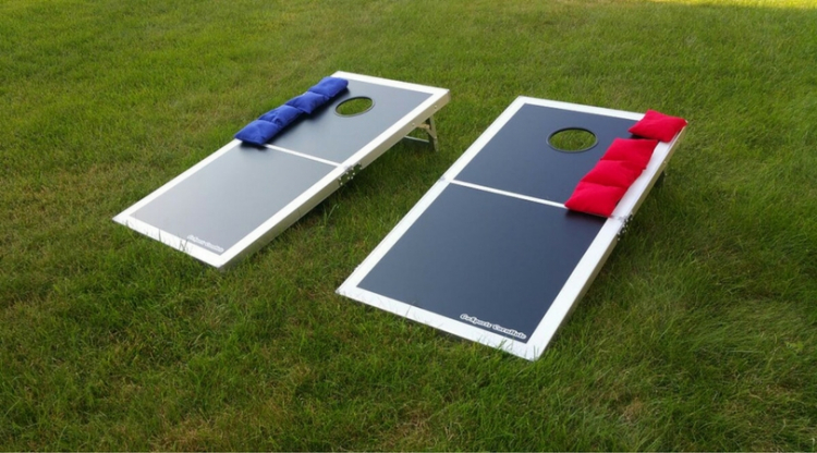 Bean Bag Toss Cornhole Game