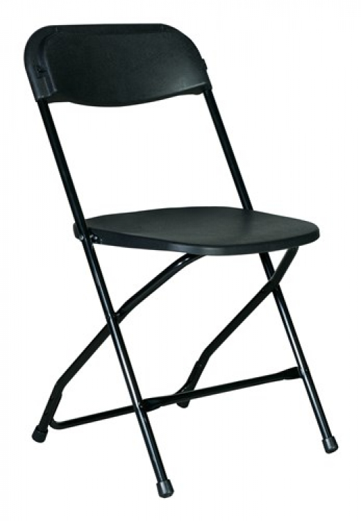 Folding Chairs (Black)