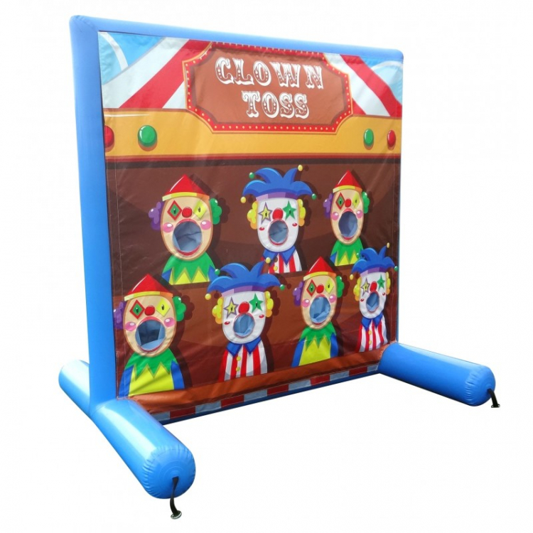 Clown Toss Frame Game