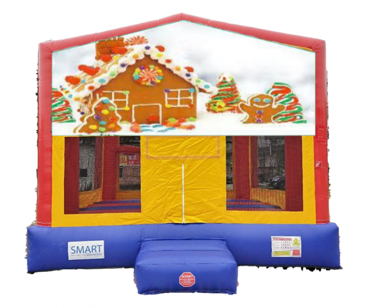 15x15 Gingerbread Bounce House