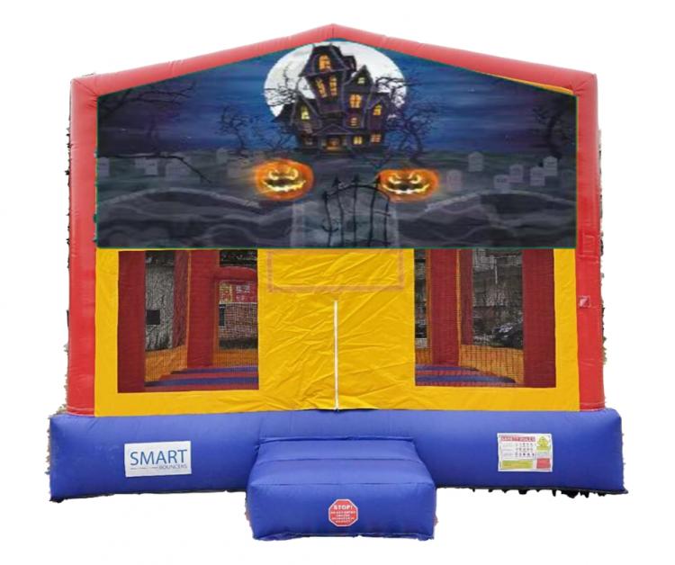 15x15 Halloween Pumpkin Bounce House