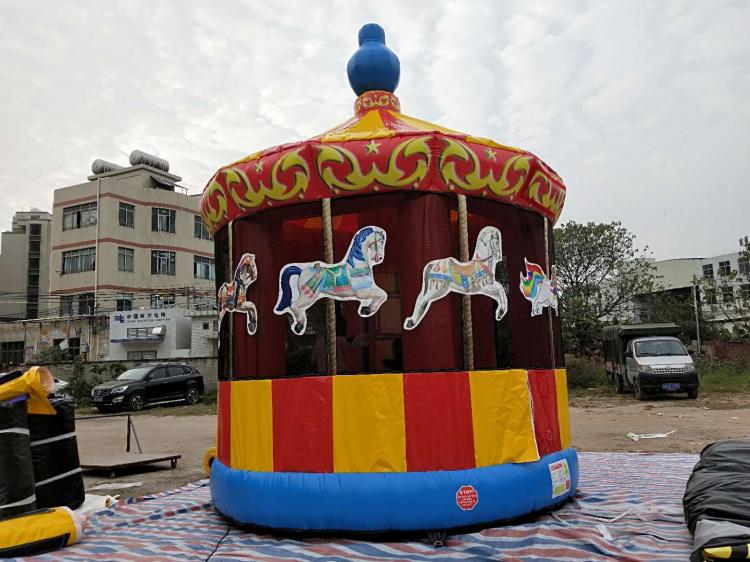 Carousel Merry Go Round Bounce House
