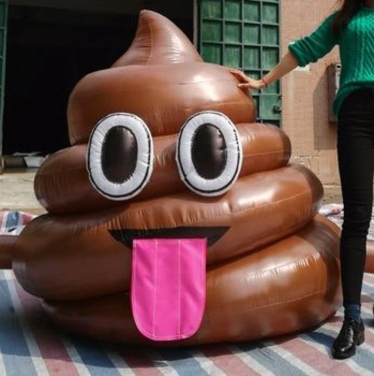 Inflatable Poop