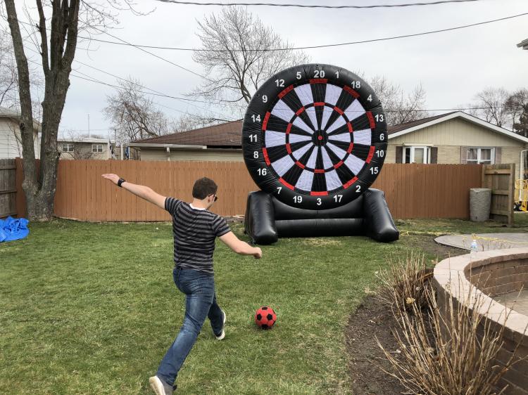 Soccer Dart Board
