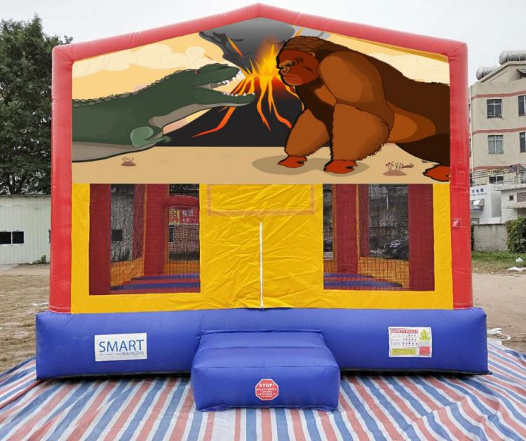 15x15 Dino King Kong Bounce House