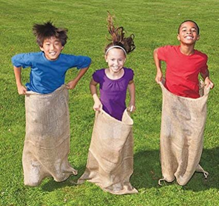 Potatoe Sack Race