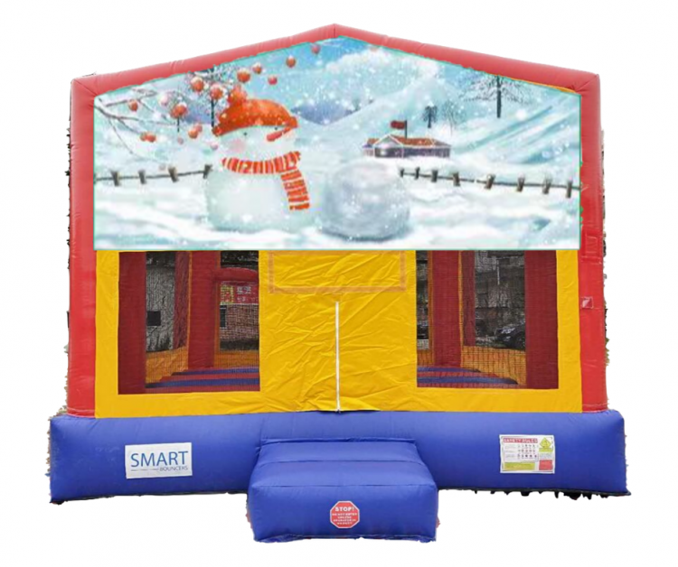 15x15 Snowman Bounce House