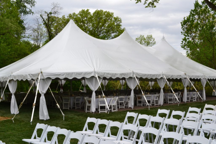 50 Guest Wedding Tent Package