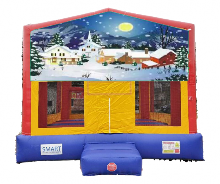 15x15 Winter Wonderland Bounce House