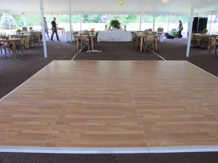 Dance Floor With Subfloor