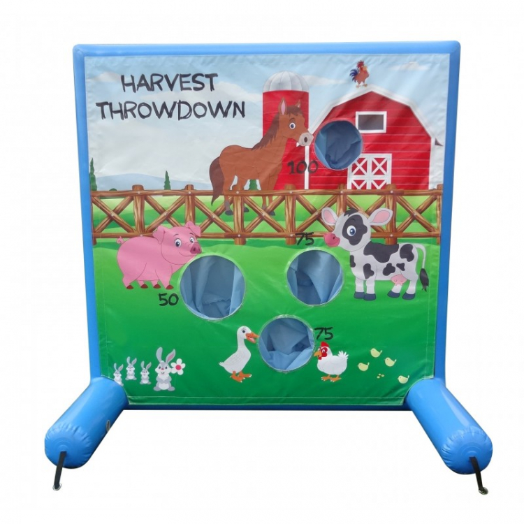 Harvest Throwdown Animal Frame Game