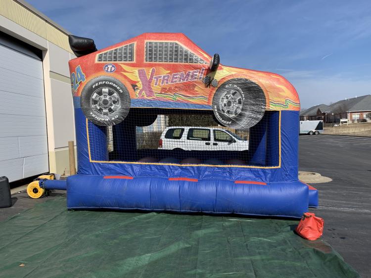 Race Car Bounce House