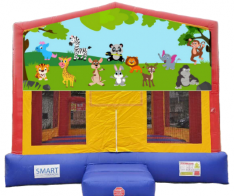 15x15 Baby Animal Bounce House