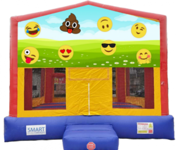 15x15 Emoji Bounce House