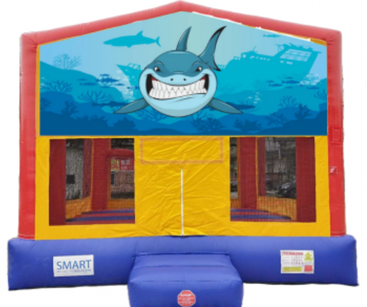 15x15 Shark Bounce House
