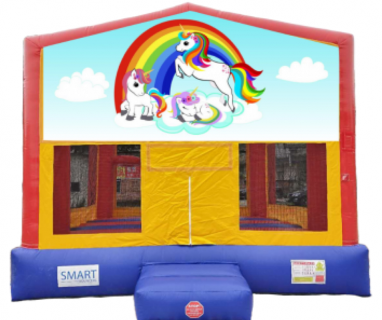 15x15 Unicorn Bounce House
