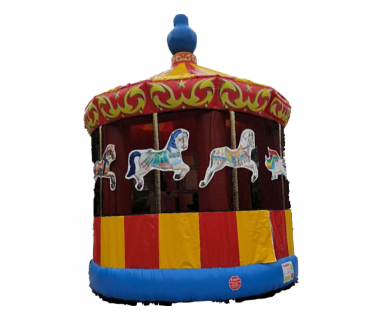 Carousel Merry Go Round Bounce House