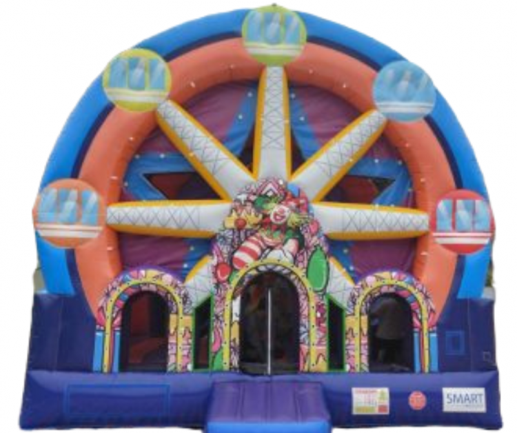Ferris Wheel Bounce House Combo