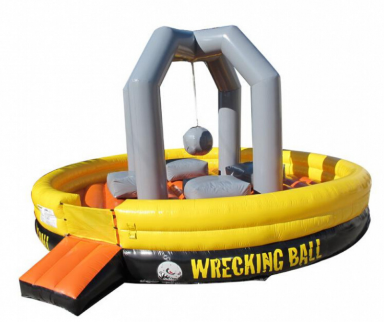Giant Wrecking Ball Game