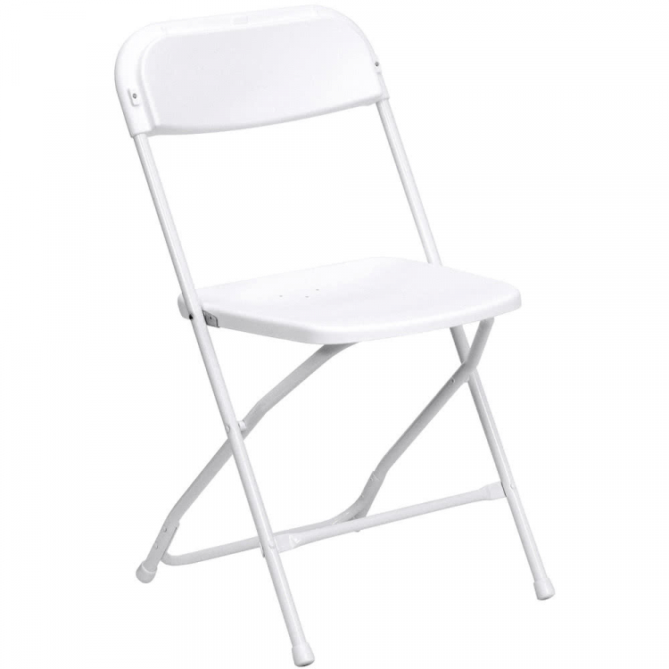 Folding Chairs (White)