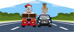 Fire Police Dog Theme