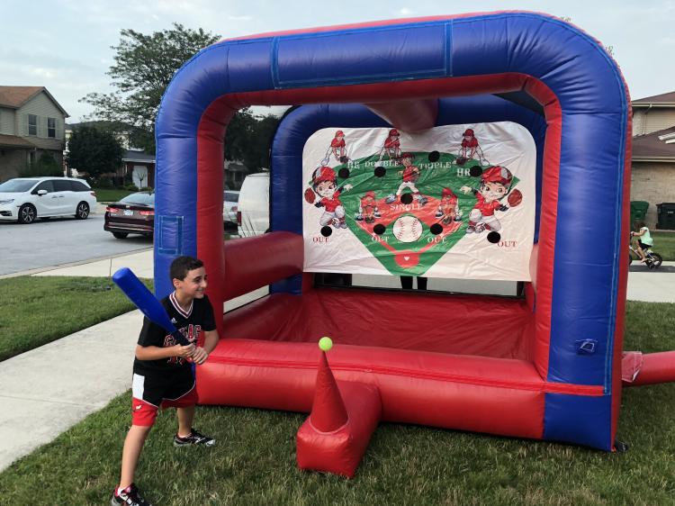 Floating Baseball Game