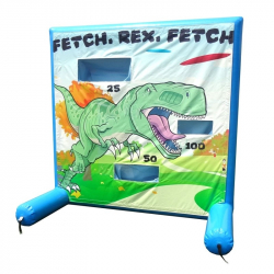 Frisbee Dino Fetch Frame Game Panel
