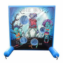 Zombie Hunt Frame Game Panel