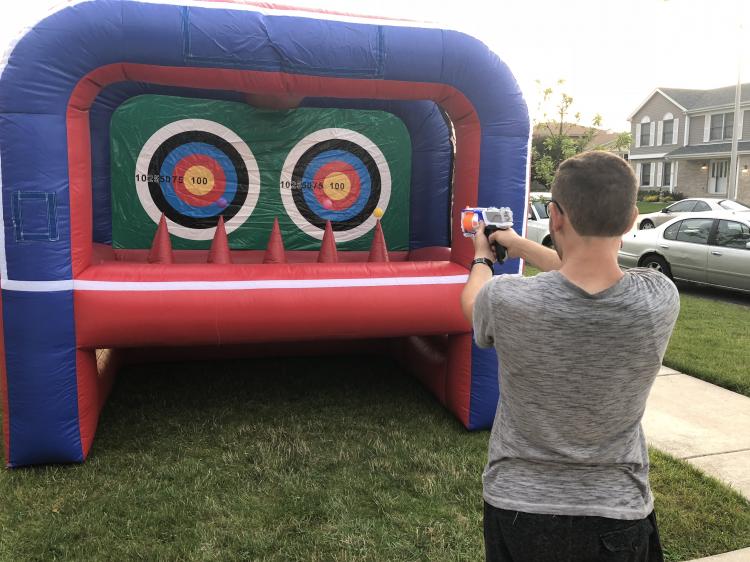 Floating Target Practice